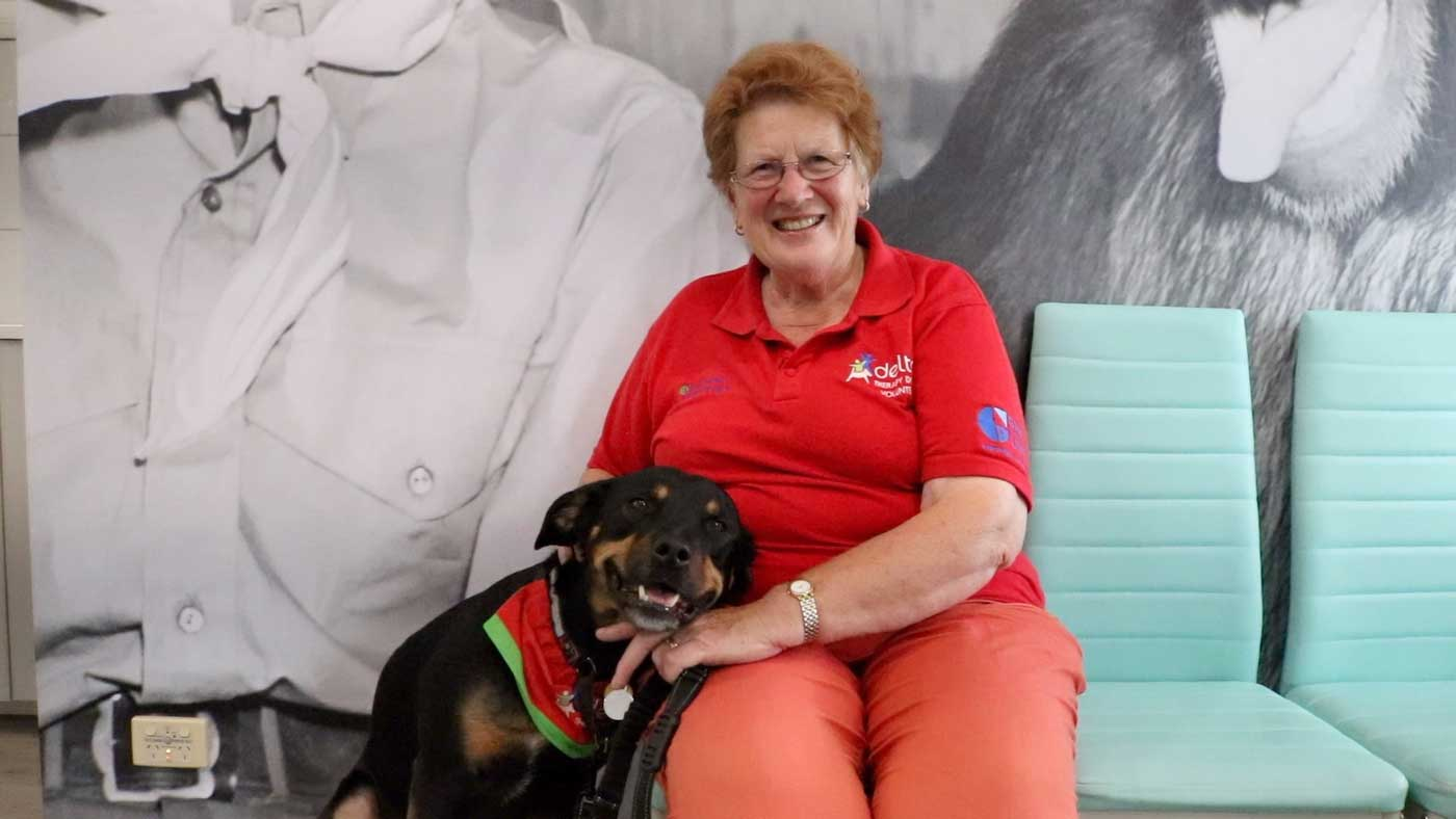 delta society therapy dogs